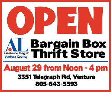 Bargain Box Thrift Store open Aug. 29 from noon to 4 pm