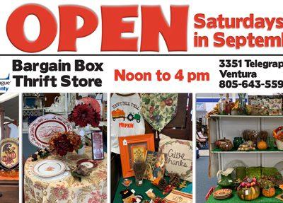 BB open Saturdays in September